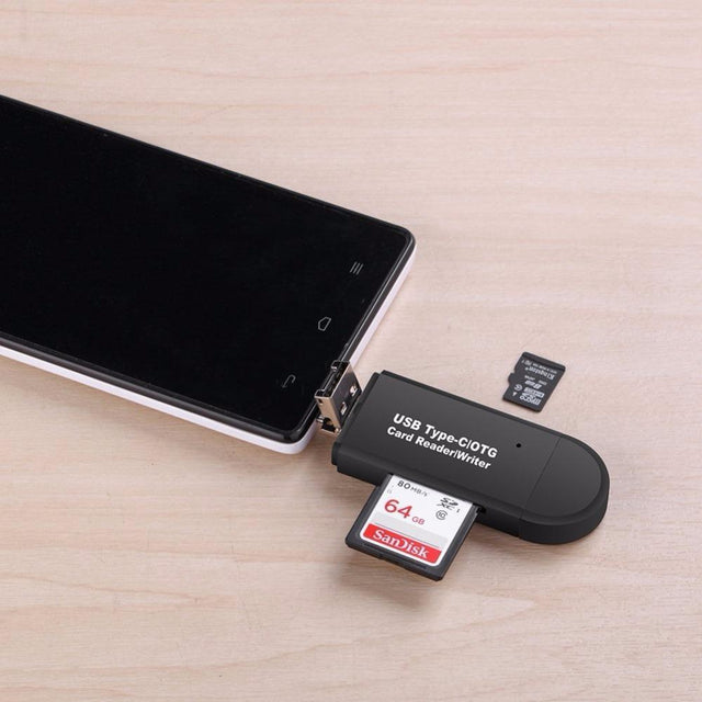 Mobile Friendly SD Card Reader For Android Phones & Tablets