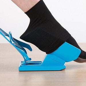 Sock Slider-Sock Aid Device