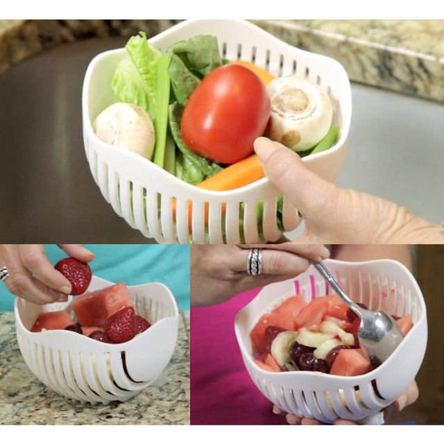 Perfect Salad/Fruit Cutter Bowl - 50% OFF TODAY