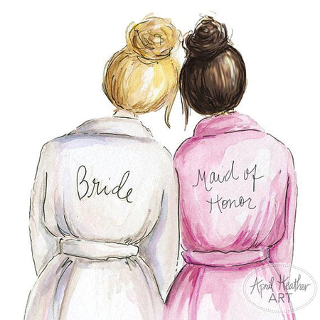 Maid Of Honor Checklist
