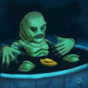 Creature in The Pool