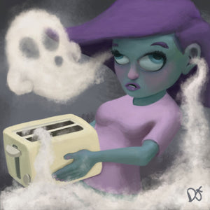 Toaster Ghost