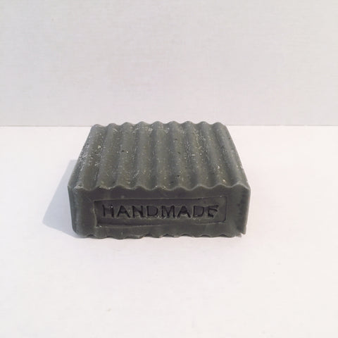 Handmade Soap- Charcoal with Poppy Seed and Lemongrass Essential Oil