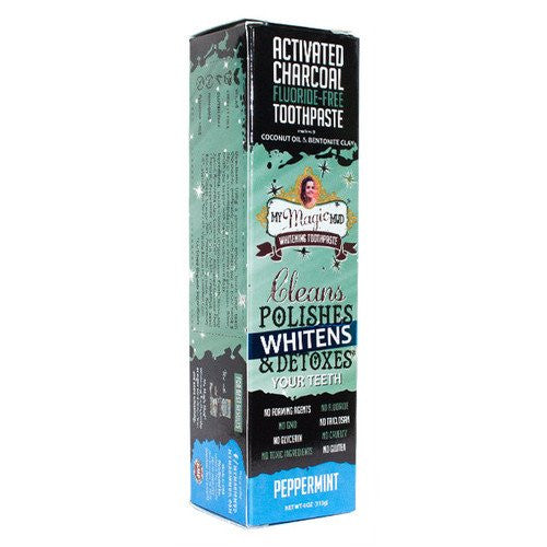 Activated Charcoal Toothpaste- Peppermint