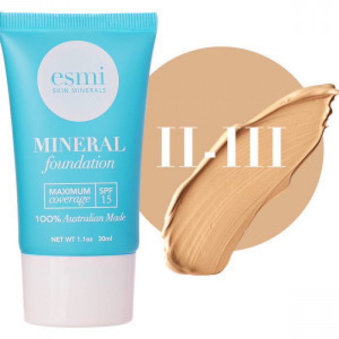 Liquid Mineral Foundation- Skin Type II-III