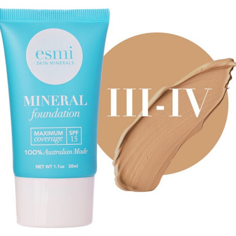 Liquid Mineral Foundation- Skin Type III-IV