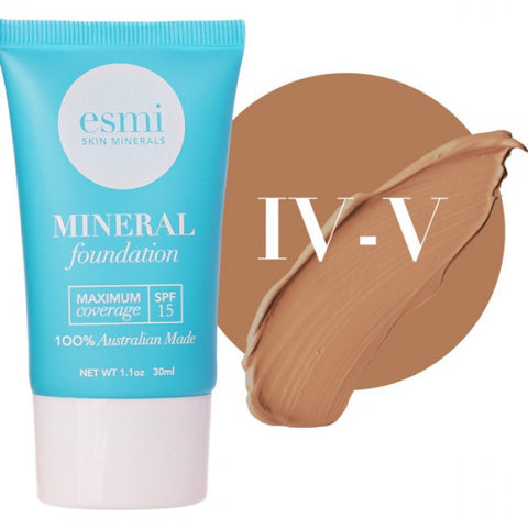 Liquid Mineral Foundation- Skin Type IV-V