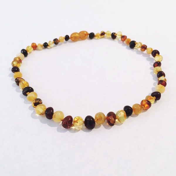 Amber Love child necklace- Mixed Love