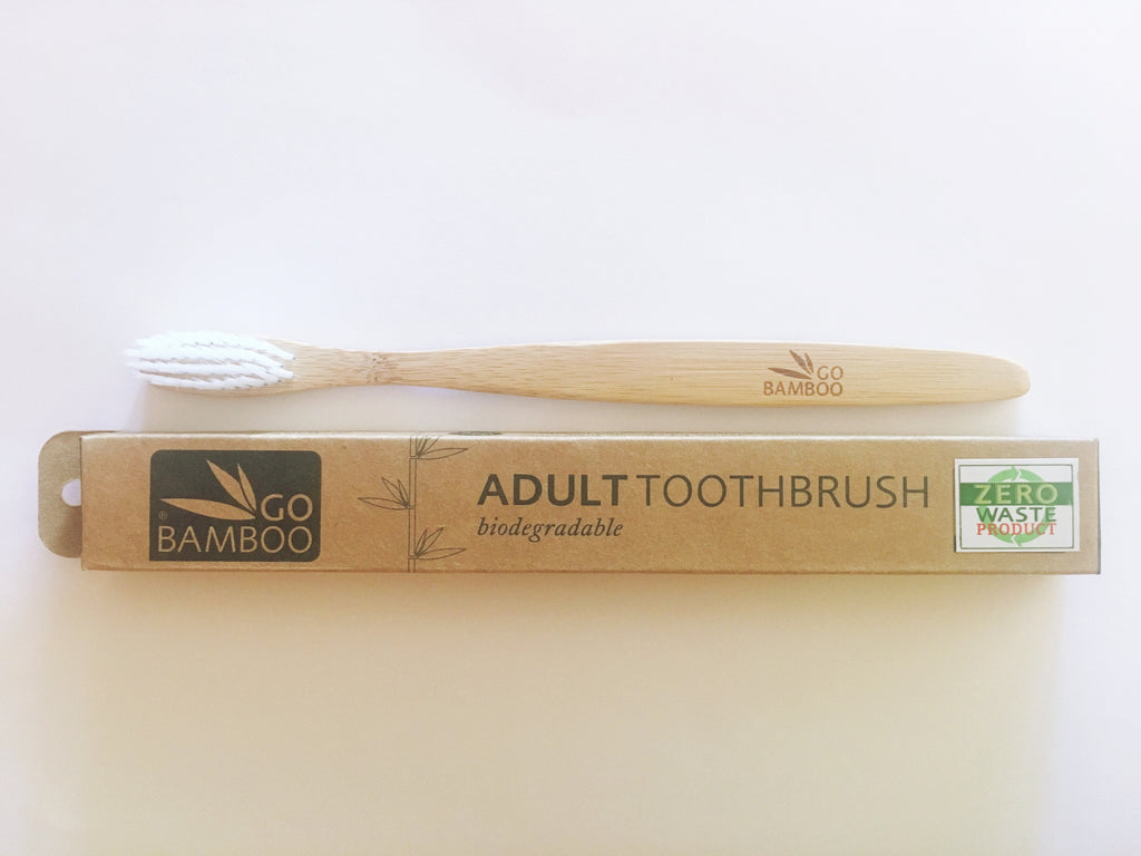 bamboo toothbrush- adult