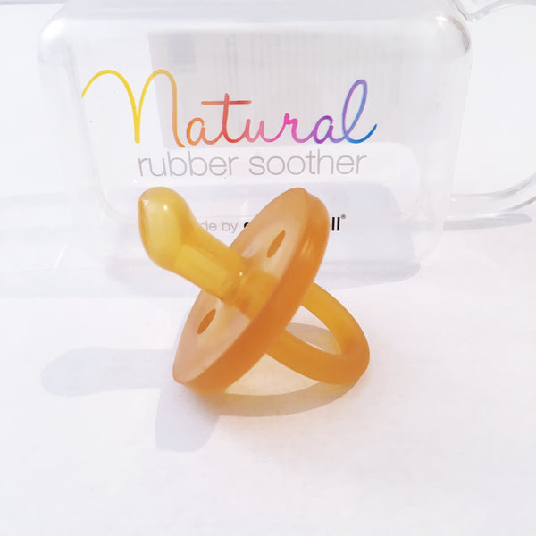 Natural Rubber Soother Orthodontic (0 - 6 months)