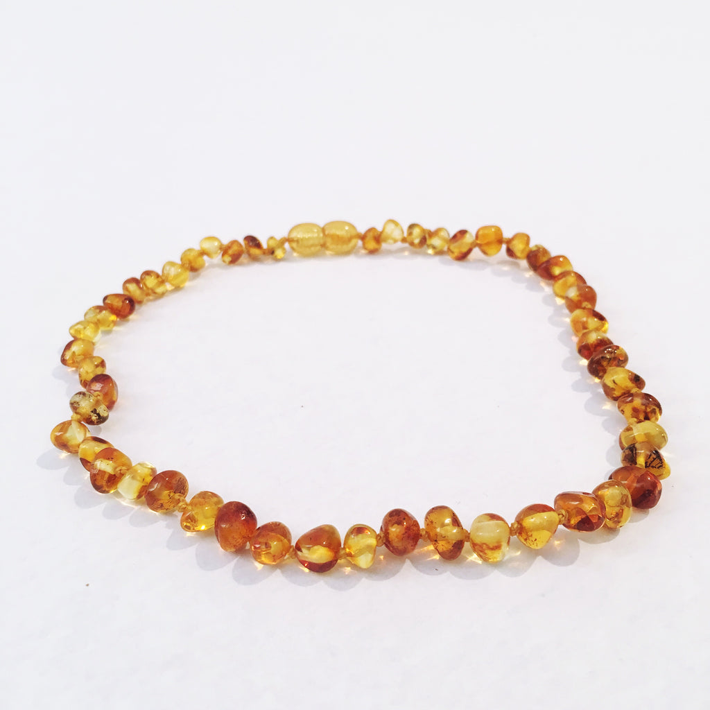 Amber Love Child necklace- Honey Love