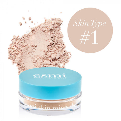 Powder Mineral Foundation- Skin Type I