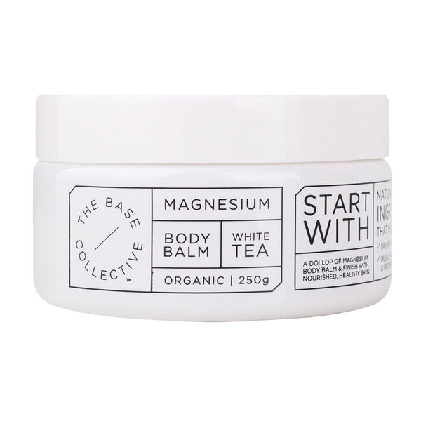 Magnesium + White Tea Body Balm