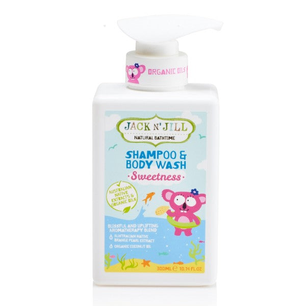 Sweetness Shampoo & Body Wash, Natural Bath Time