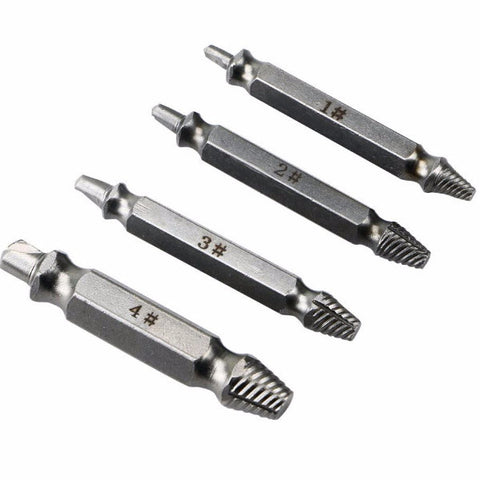 screw extractor. easyout - damaged screw extractor (4pcs) b
