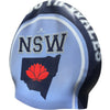 NEW SOUTH WALES BLUE Seamless Silicone Swim Cap