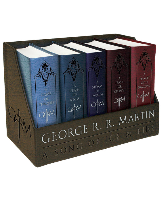 A Song of Ice and Fire | George R. R. Martin | Leather-Cloth Boxed Set
