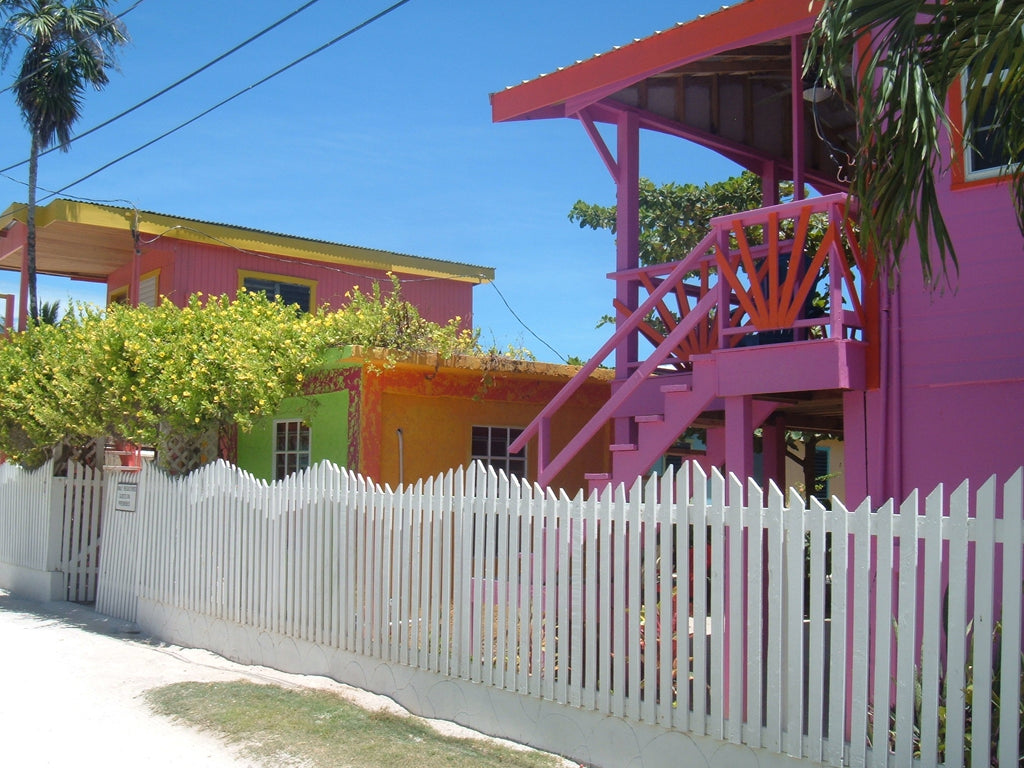Happy Place of the Day - Little Pink Houses