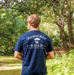 Bohicket Road Relaxed Fit Logo T-shirt - Bohicket Road