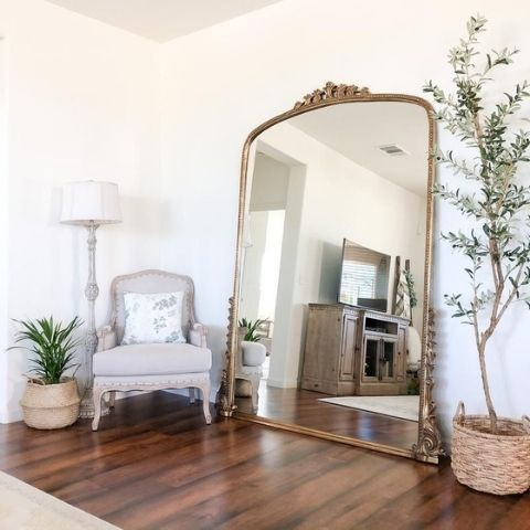 Oversize Arched Mirror