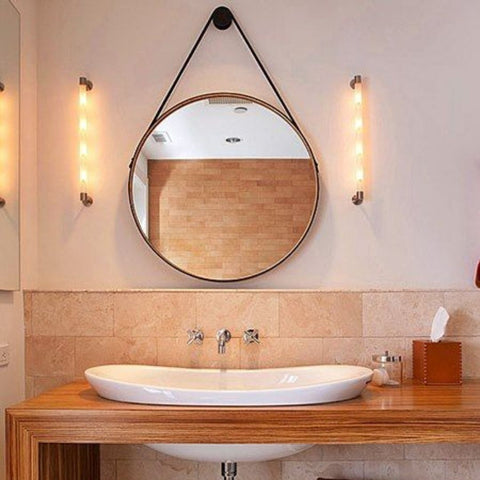 Suspended Wall Mirror