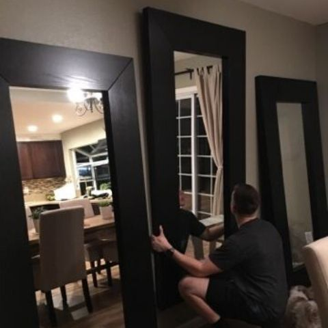 Oversized Wall Mirror