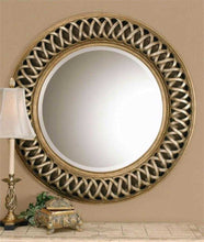 Load image into Gallery viewer, Uttermost Entwined Round Wall Mirror - 14028B Local