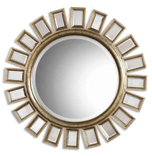 Load image into Gallery viewer, Uttermost Cyrus Round Wall Mirror Um - 14076B Local