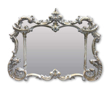 Load image into Gallery viewer, Isabella Art Deco Mirror (129W X 99H Cm) Whitewash Timber Imported