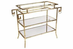 Loft Mirrored Drinks Table Cl - 31165 Local