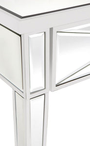APOLO WHITE MIRRORED CONSOLE TABLE