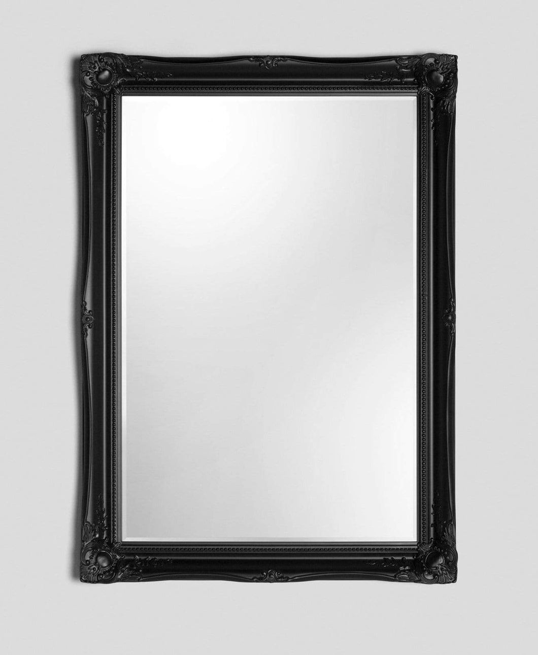 SERENA BLACK LARGE WALL MIRROR