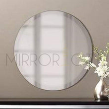 Load image into Gallery viewer, Round Frameless Beveled Bathroom Mirror - mirrors-city-aus