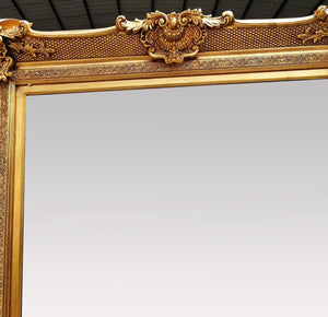 Cordia Gold Large Leaner Mirror Local