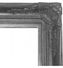 WICHOO FRENCH PROVINCIAL ORNATE MIRROR ANTIQUE SILVER