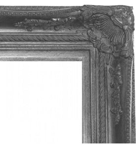 Wichoo French Provincial Ornate Mirror Antique Silver Imported