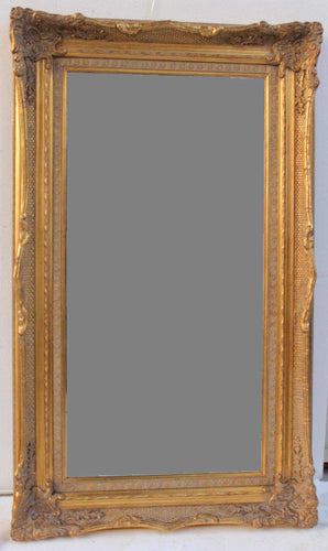 TAY UCHO FRENCH PROVINCIAL ORNATE MIRROR ANTIQUE GOLD