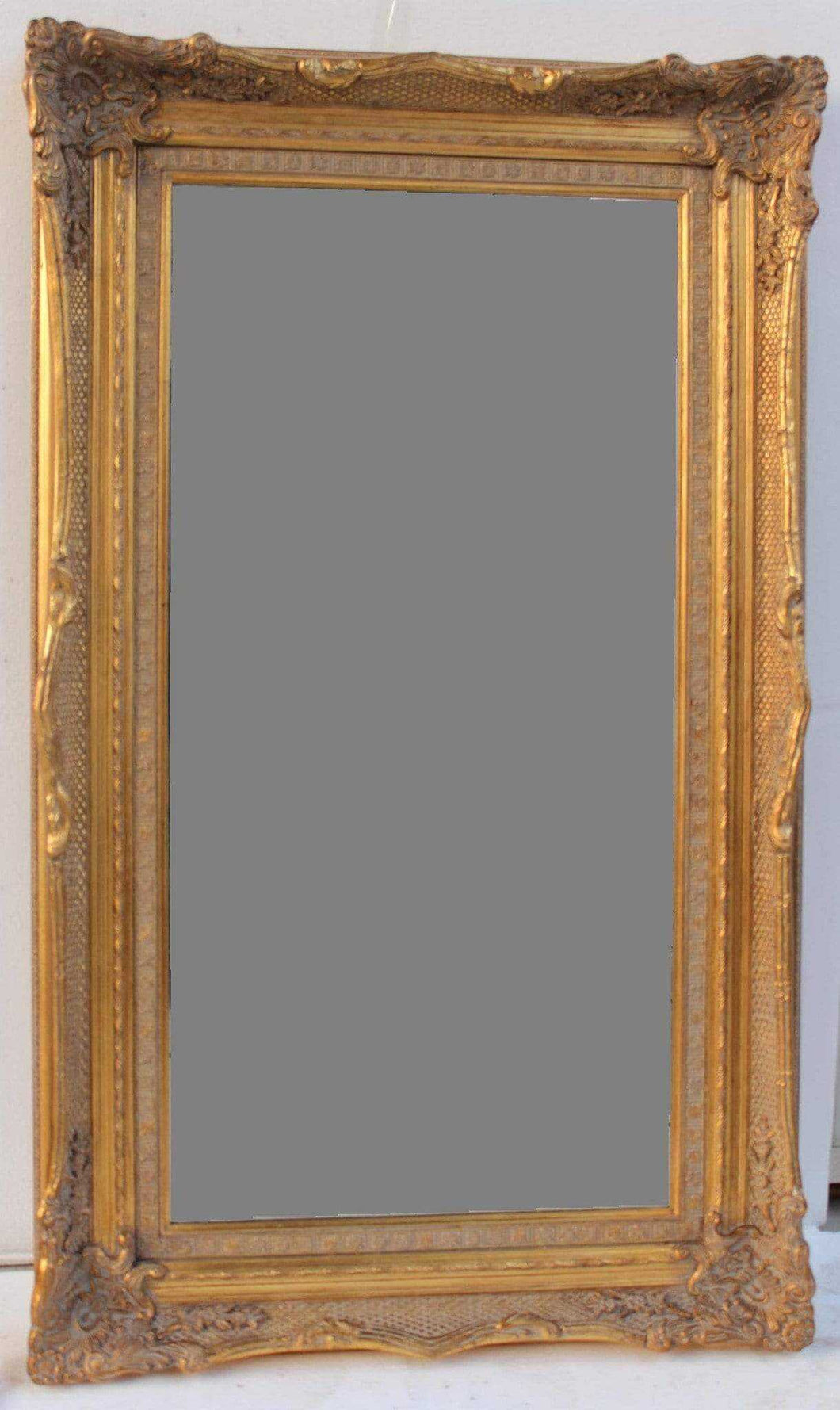 TAY UCHO FRENCH PROVINCIAL ORNATE MIRROR ANTIQUE GOLD - mirrors-city-aus