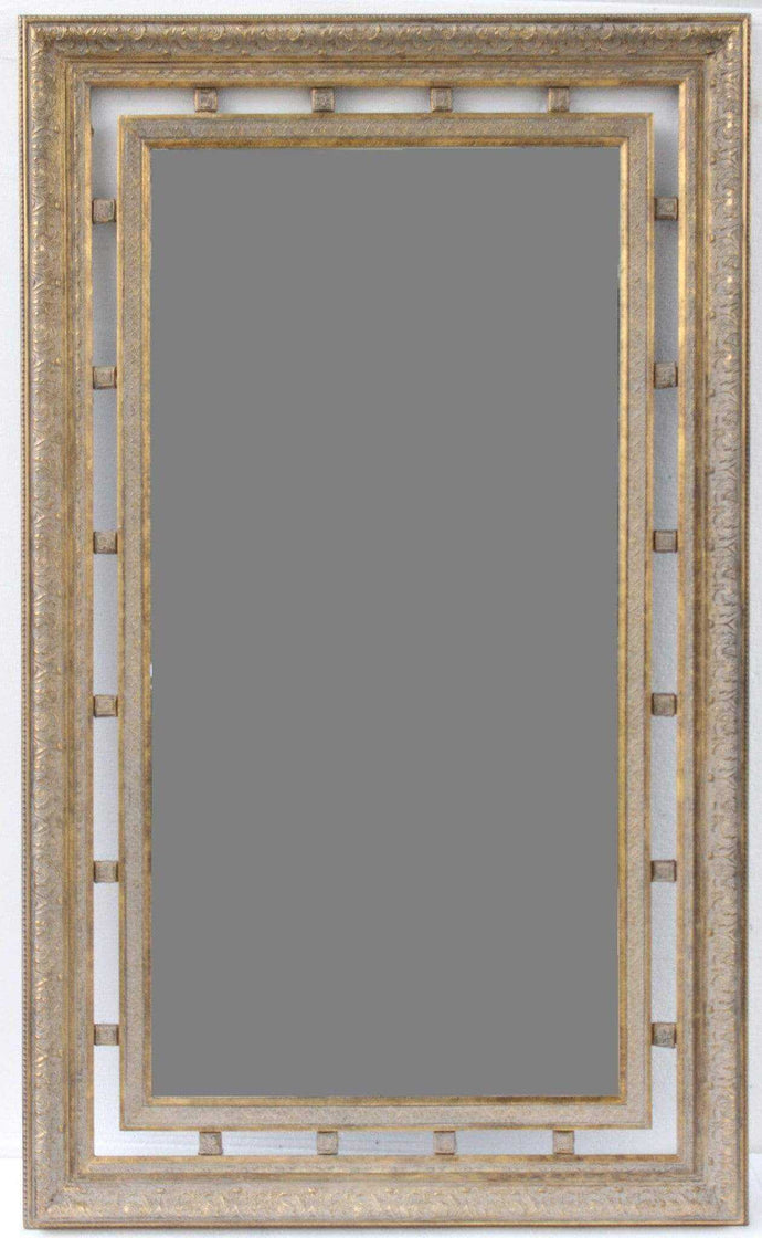KHANA FRENCH PROVINCIAL ORNATE MIRROR ANTIQUE GOLD