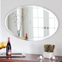 Load image into Gallery viewer, Frameless Modern Oval Bevelled Mirror - mirrors-city-aus