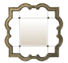Load image into Gallery viewer, Galena Square Wall Mirror Local