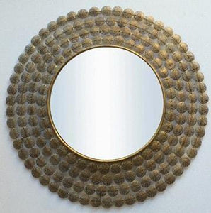 Beatrice Gold Wall Mirror Al - 151443-K82 Local
