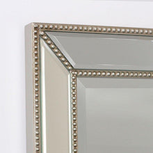 Load image into Gallery viewer, Bronx Modern Beaded Silver Mirror Local