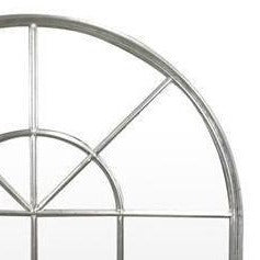 Dove Silver Arched Wall Mirror Local