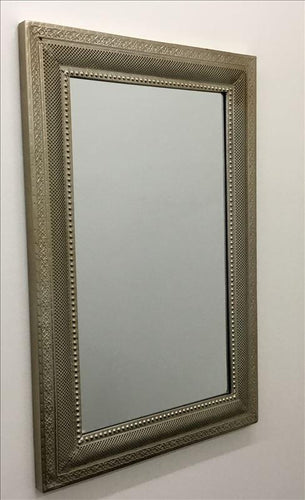 Gold Contemporary Metal Frame Wall Mirror - mirrors-city-aus