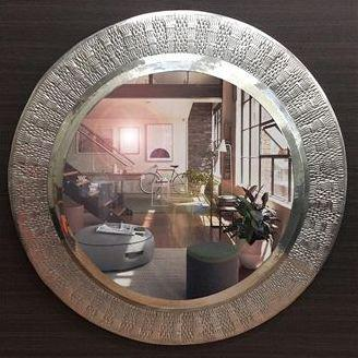 WATER MARK DESIGN MIRROR 90 CM