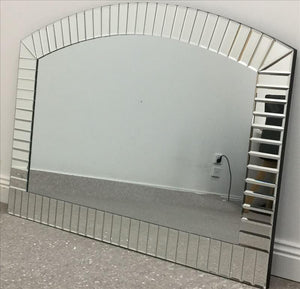 Multi-Pieces Mirrored Arch Frame Wall Mirror