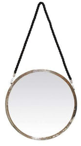 Bellona Round Hanging Wall Mirror Ow - Fi0596 Local