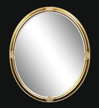 Load image into Gallery viewer, Fulton Oval Gold Wall Mirror Local