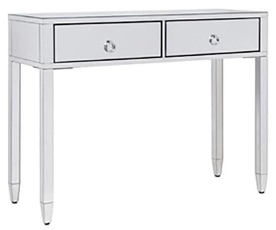 Glamour 2 Drawer Mirrored Console Ds - 41137 Local